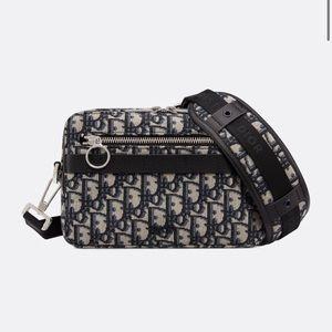 SAFARI DIOR OBLIQUE MESSENGER BAG - Used $ Rare